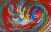 彩色油画布二46张 5种尺寸 绘画壁纸