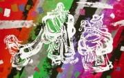 藏族祥巴版画 壁纸6 藏族祥巴版画 绘画壁纸