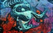 藏族祥巴版画 壁纸7 藏族祥巴版画 绘画壁纸