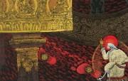 藏族祥巴版画 壁纸11 藏族祥巴版画 绘画壁纸