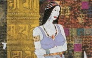 藏族祥巴版画 壁纸15 藏族祥巴版画 绘画壁纸