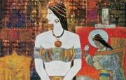 藏族祥巴版画 壁纸16 藏族祥巴版画 绘画壁纸
