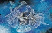 藏族祥巴版画 壁纸18 藏族祥巴版画 绘画壁纸