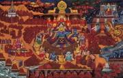 藏族祥巴版画 壁纸19 藏族祥巴版画 绘画壁纸