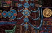 藏族祥巴版画 壁纸21 藏族祥巴版画 绘画壁纸