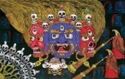 藏族祥巴版画 壁纸25 藏族祥巴版画 绘画壁纸