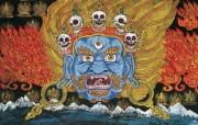 藏族祥巴版画 壁纸26 藏族祥巴版画 绘画壁纸