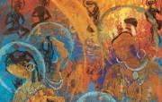 藏族祥巴版画 壁纸28 藏族祥巴版画 绘画壁纸