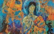 藏族祥巴版画 壁纸29 藏族祥巴版画 绘画壁纸