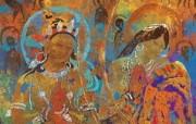藏族祥巴版画 壁纸31 藏族祥巴版画 绘画壁纸