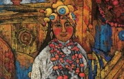 藏族祥巴版画 壁纸36 藏族祥巴版画 绘画壁纸