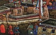 藏族祥巴版画 壁纸39 藏族祥巴版画 绘画壁纸
