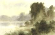 水彩景色 1 17 水彩景色 绘画壁纸
