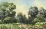 水彩景色 1 11 水彩景色 绘画壁纸