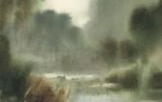 水彩景色 1 9 水彩景色 绘画壁纸