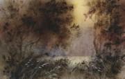 水彩景色 1 8 水彩景色 绘画壁纸