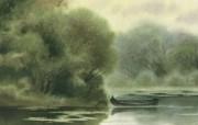 水彩景色 1 5 水彩景色 绘画壁纸