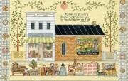 Country Sampler of Simple Blessings 国外儿童图书绘本壁纸 Ellen Stouffer 儿童图书绘本 绘画壁纸