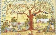 Country Sampler of Simple Blessings 温馨儿童图书绘本壁纸 Ellen Stouffer 儿童图书绘本 绘画壁纸