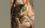 俄罗斯艺术家Arsen Kurbanov 油画作品宽屏壁纸 壁纸2 俄罗斯艺术家Arse 绘画壁纸