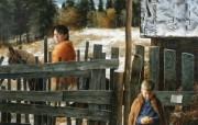 俄罗斯艺术家Arsen Kurbanov 油画作品宽屏壁纸 壁纸3 俄罗斯艺术家Arse 绘画壁纸