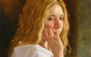 俄罗斯艺术家Arsen Kurbanov 油画作品宽屏壁纸 壁纸11 俄罗斯艺术家Arse 绘画壁纸