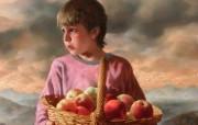 俄罗斯艺术家Arsen Kurbanov 油画作品宽屏壁纸 壁纸26 俄罗斯艺术家Arse 绘画壁纸