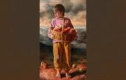 俄罗斯艺术家Arsen Kurbanov 油画作品宽屏壁纸 壁纸27 俄罗斯艺术家Arse 绘画壁纸