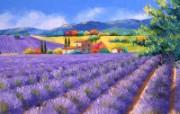 法国田园 手绘油画壁纸 1600x1200 壁纸6 法国田园 手绘油画壁 绘画壁纸