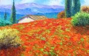 法国田园 手绘油画壁纸 1600x1200 壁纸8 法国田园 手绘油画壁 绘画壁纸
