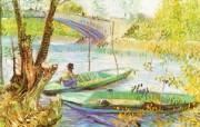 梵高 印象画派 作品宽屏壁纸 壁纸23 梵高(印象画派)作品 绘画壁纸