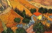 梵高 印象画派 作品宽屏壁纸 壁纸29 梵高(印象画派)作品 绘画壁纸