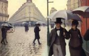 Gustave Caillebotte 卡勒波特作品集 绘画壁纸