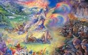 华丽幻想艺术 Josephine Wall 天国的精灵插画集 No More Mystical Fantasy Illustration of Josephine Wall 华丽幻想艺术Josephine Wall 天国的精灵画集 绘画壁纸