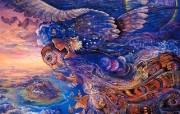 华丽幻想艺术 Josephine Wall 天国的精灵插画集 夜之女王 华丽奇幻精灵插画壁纸 华丽幻想艺术Josephine Wall 天国的精灵画集 绘画壁纸
