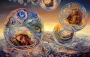 华丽幻想艺术 Josephine Wall 天国的精灵插画集 In Search of Morpheus Mystical Fantasy Illustration of Josephine Wall 华丽幻想艺术Josephine Wall 天国的精灵画集 绘画壁纸