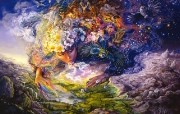 华丽幻想艺术 Josephine Wall 天国的精灵插画集 Breath of Gaia Mystical Fantasy Illustration of Josephine Wall 华丽幻想艺术Josephine Wall 天国的精灵画集 绘画壁纸