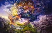 华丽幻想艺术 天国的天国 壁纸2 华丽幻想艺术:天国的 绘画壁纸