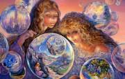 华丽幻想艺术 天国的天国 壁纸3 华丽幻想艺术:天国的 绘画壁纸