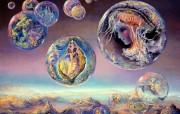华丽幻想艺术 天国的天国 壁纸4 华丽幻想艺术:天国的 绘画壁纸