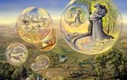 华丽幻想艺术 天国的天国 壁纸5 华丽幻想艺术:天国的 绘画壁纸