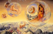华丽幻想艺术 天国的天国 壁纸6 华丽幻想艺术:天国的 绘画壁纸