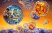 华丽幻想艺术 天国的天国 壁纸7 华丽幻想艺术:天国的 绘画壁纸
