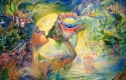 华丽幻想艺术 天国的天国 壁纸9 华丽幻想艺术:天国的 绘画壁纸