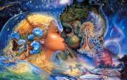 华丽幻想艺术 天国的天国 壁纸10 华丽幻想艺术:天国的 绘画壁纸