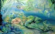 华丽幻想艺术 天国的天国 壁纸11 华丽幻想艺术:天国的 绘画壁纸