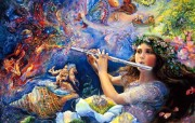 华丽幻想艺术 天国的天国 壁纸12 华丽幻想艺术:天国的 绘画壁纸