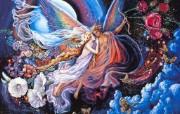 华丽幻想艺术 天国的天国 壁纸13 华丽幻想艺术:天国的 绘画壁纸