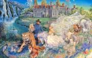华丽幻想艺术 天国的天国 壁纸14 华丽幻想艺术:天国的 绘画壁纸