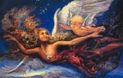 华丽幻想艺术 天国的天国 壁纸15 华丽幻想艺术:天国的 绘画壁纸
